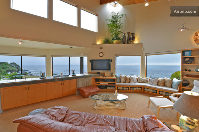 Best ocean bluff ever in the sea ranch for Best living room ever