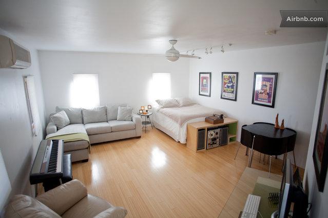 Converted garage into studio apartment 2017 2018 best for Garage studio apartment