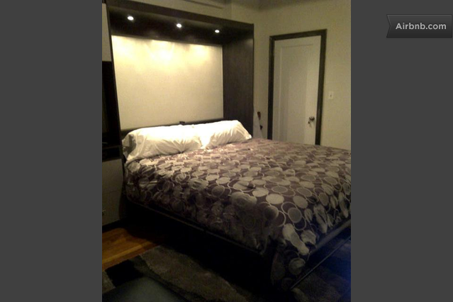Newly done studio heart of chelsea in new york for High end king size bed