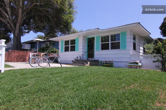 The La Jolla Beach Cottage In San Diego