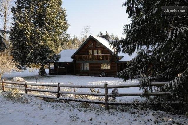 Custom Log Homes Washington State