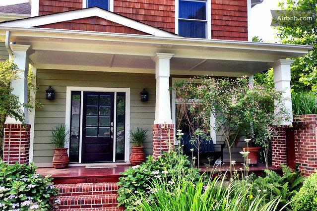Beautiful house/artwork/garden/pool in Charlotte