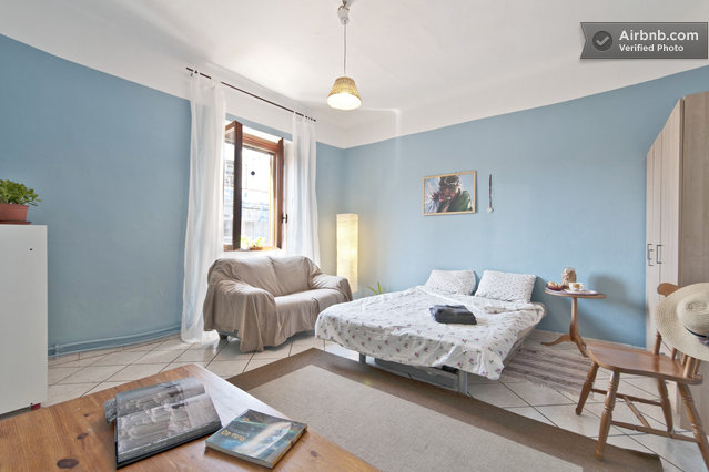 lightblue room in milan
