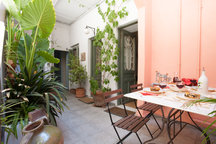 Private courtyard-heart of Athens