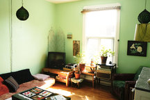 Sublet large sunny apt. for 7 mths