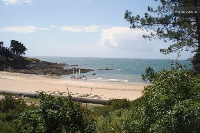 Studio bord de mer bretagne sud in mo lan sur mer for Achat maison bord de mer bretagne sud
