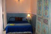 Riad Maizie Blue Courtyard Room