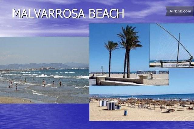 Malvarosa beach for Spiaggia malvarrosa valencia