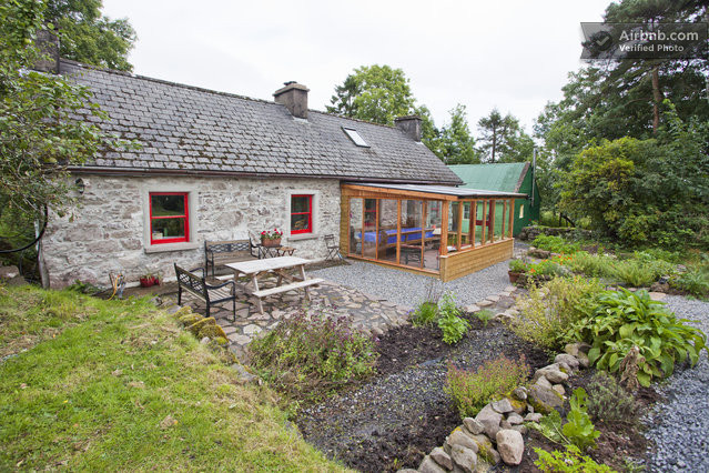 Organic traditional irish cottage in derreen for Traditional irish cottage designs